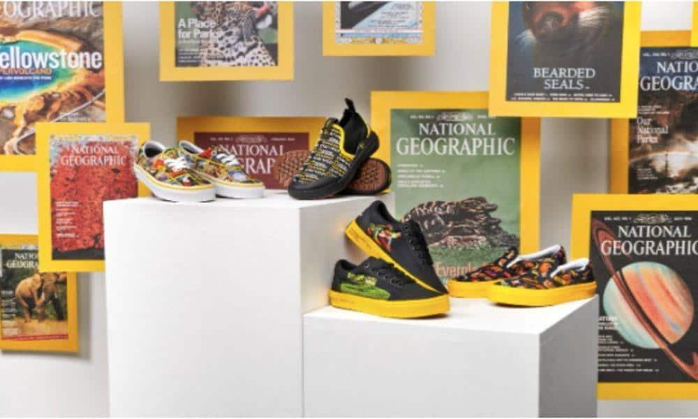 Colaboración de National Geographic y Vans Foto: Archivo