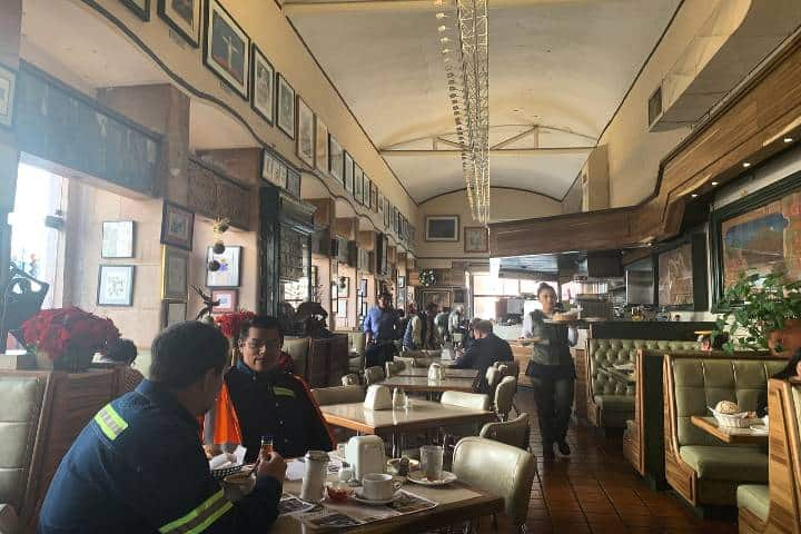 Un restaurante en donde el apetito no tendrá cabida Foto: Restaurante Acrópolis