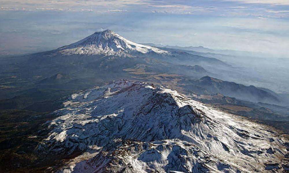 La leyenda de los volcanes Popocatépetl e Iztaccíhuatl Foto: Archivo