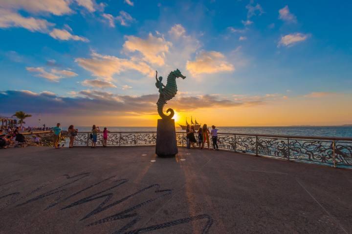 Disfruta de la reapertura de playas en Puerto Vallarta con las medidas sanitarias adecuadas para pronto reactivar el turismo en su totalidad Foto: Archivo