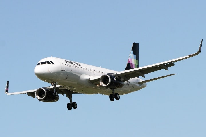 Avión de Volaris Foto Jacques Panas