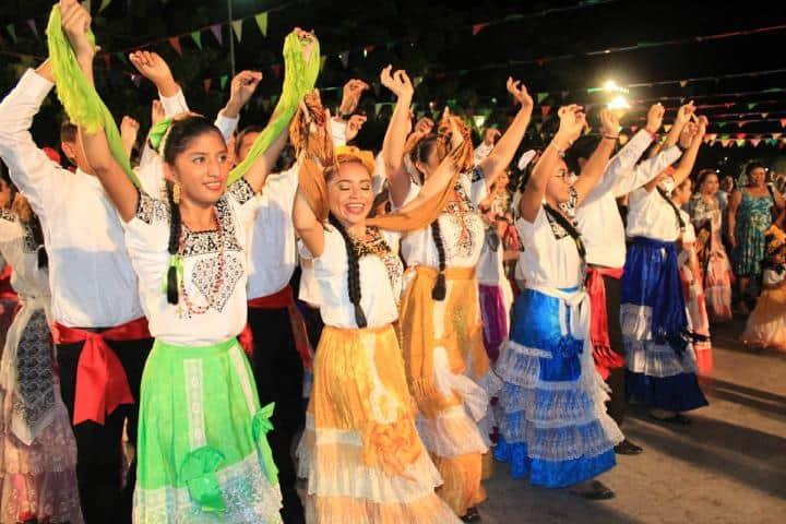 Bailes que representan la cultura de Campeche Foto: Novedades de Campeche