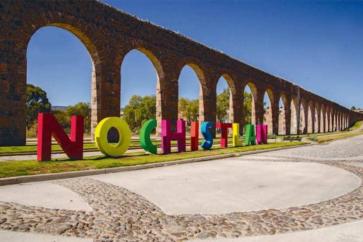 Bienvenida a Nochistlán, Pueblo Mágico de Zacatecas Foto: Motociclo