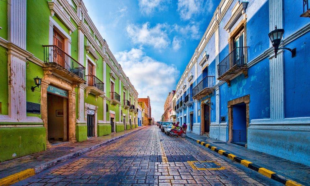 Cómo llegar a Campeche Foto Wolfgang Cevela
