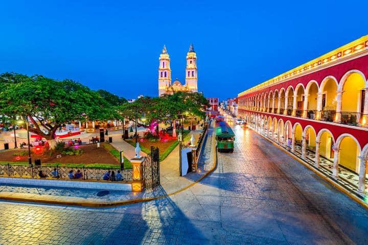La cultura y gastronomía de Campeche esperan a que las descubras Foto: Hoteles en Campeche
