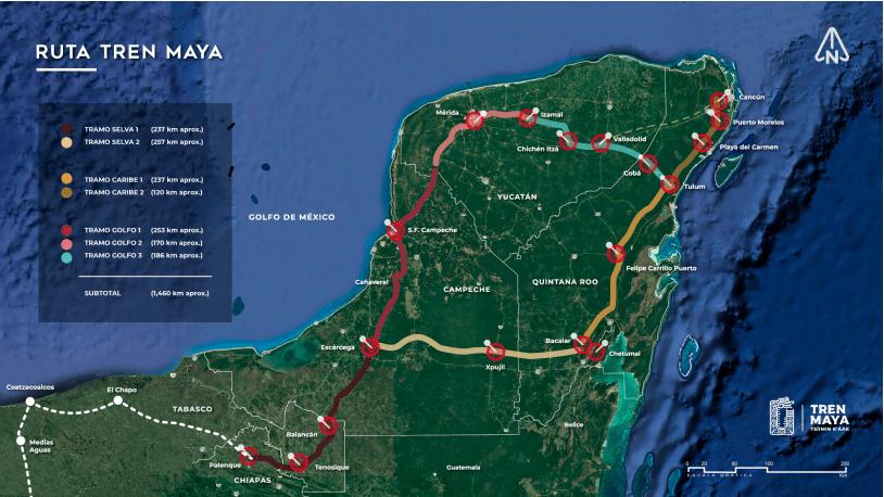 Ruta del Tren Maya - Foto FONATUR