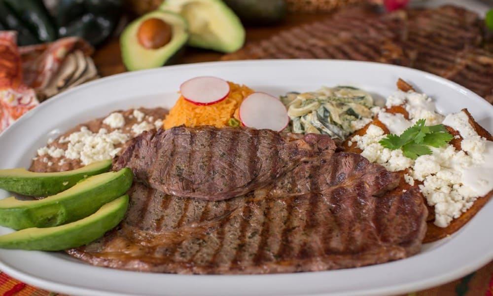 Carne a la tampiqueña Foto La Michoacana Meat Market