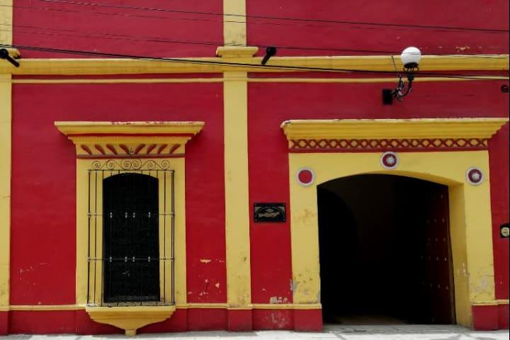 Casa de Rodolfo Morales - Foto Luis Juárez J