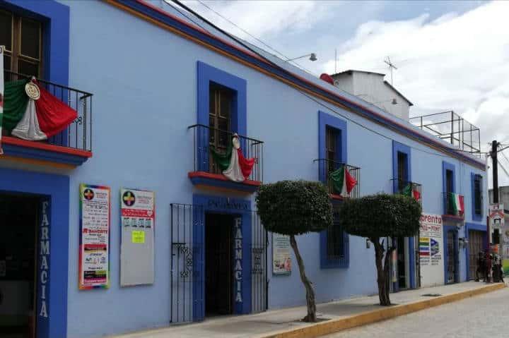 Casas de Ocotlán, Oax – Foto Luis Juárez J.