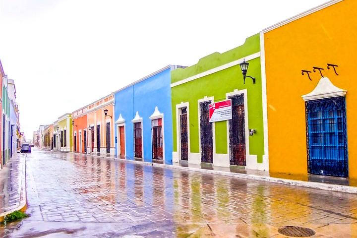 Centro Histórico de Campeche. Foto Lucy Nieto.