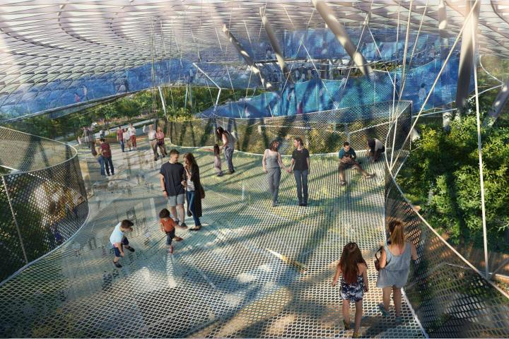 La gente puede disfrutar de las atracciones del lugar Foto: CNA