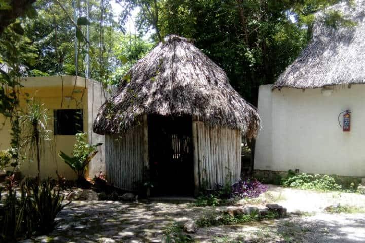 Chozas mayas - foto Luis Juárez J