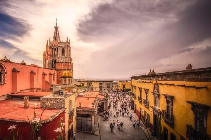 Clima en San Miguel de Allende Foto Ole Steffensen