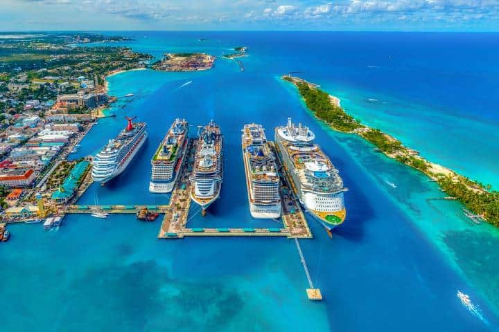 Cruceros en Bahamas Foto: Fernando Jorge