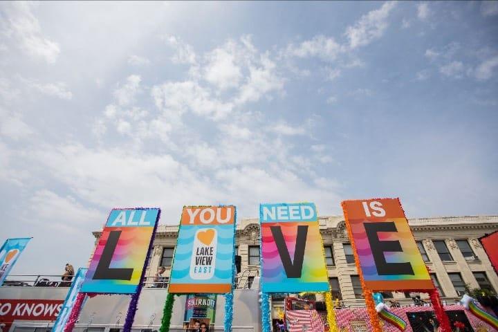 El orgullo se celebra aunque sea en modo virtual el Chicago Pride Fest Foto Archivo