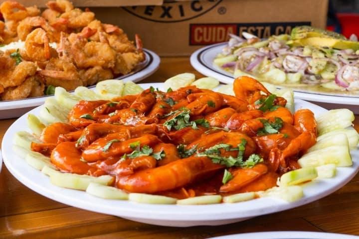 En Picantería es una especialidad los distintos preparados de camarones Foto: Restaurante Picantería