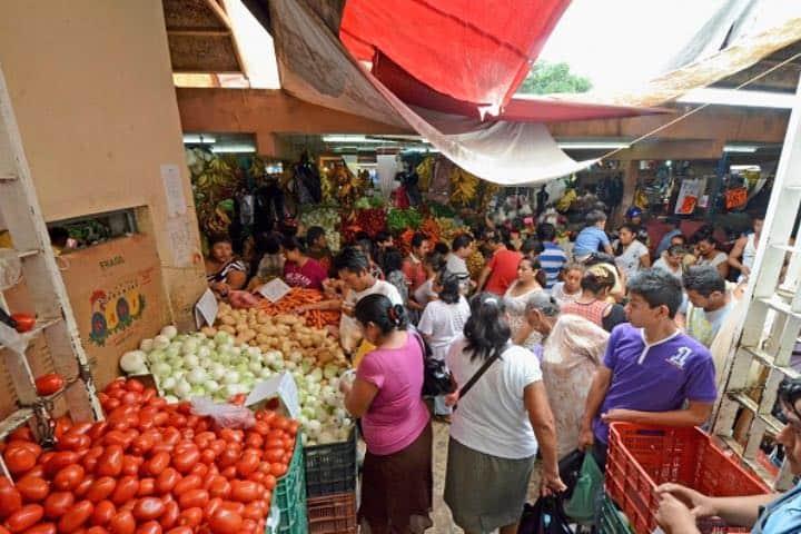 En el mercado conocerás más de los colores de Campeche Foto Megáfono Campeche