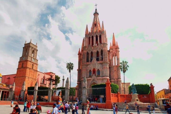 En las cosas que hacer en San Miguel de Allende claro que está visitar este emblemático sitio Foto José Manuel Azcona