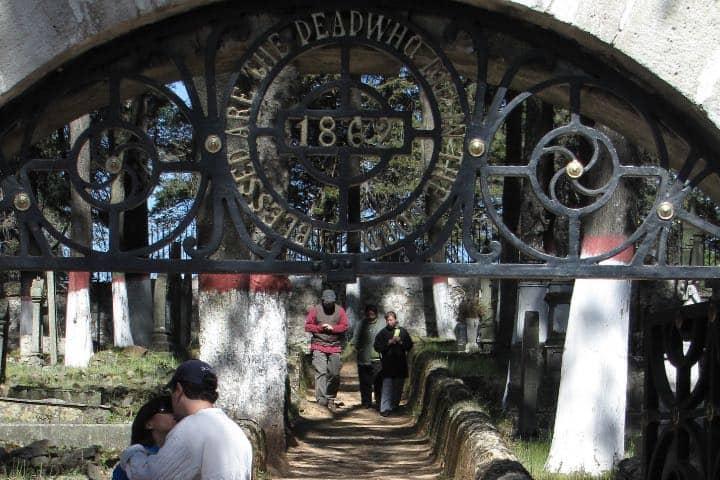 Entrada del Panteón Inglés Foto: Flickr