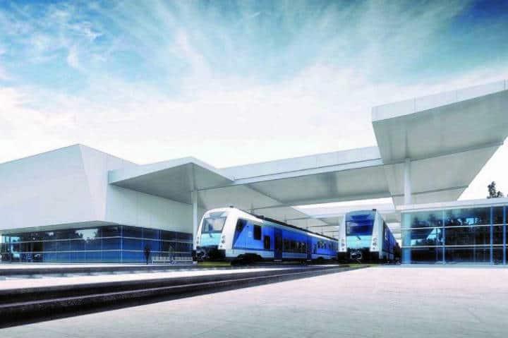 Estación Cancún Aeropuerto (Tren Maya) - Foto FONATUR