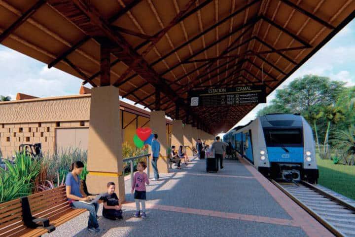 Estación Izamal (Tren Maya) - Foto FONATUR