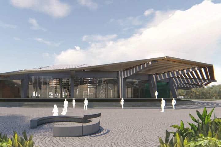 Estación Nuevo Xcán (Tren Maya) - foto FONATUR