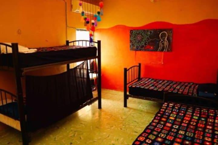 Este hostel es una gran opción dónde hospedarse en Campeche Foto PlanetofHotels