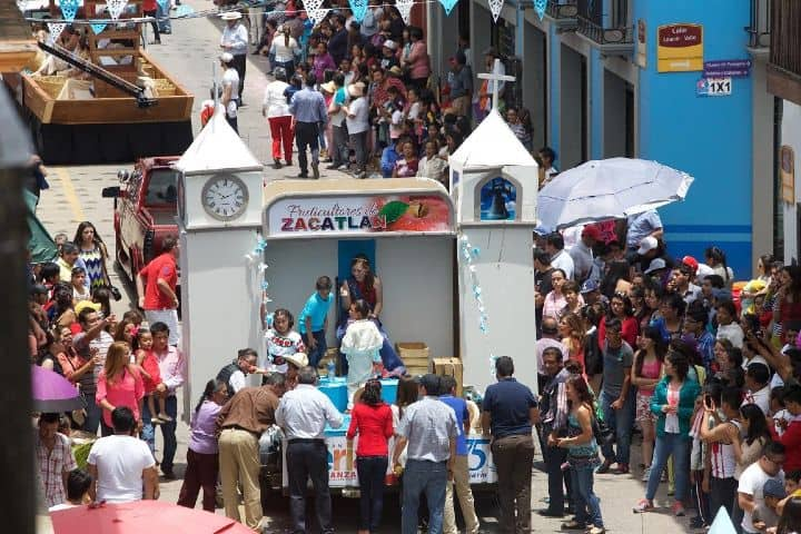 Festival de la Manzana Foto: Puebla.Travel