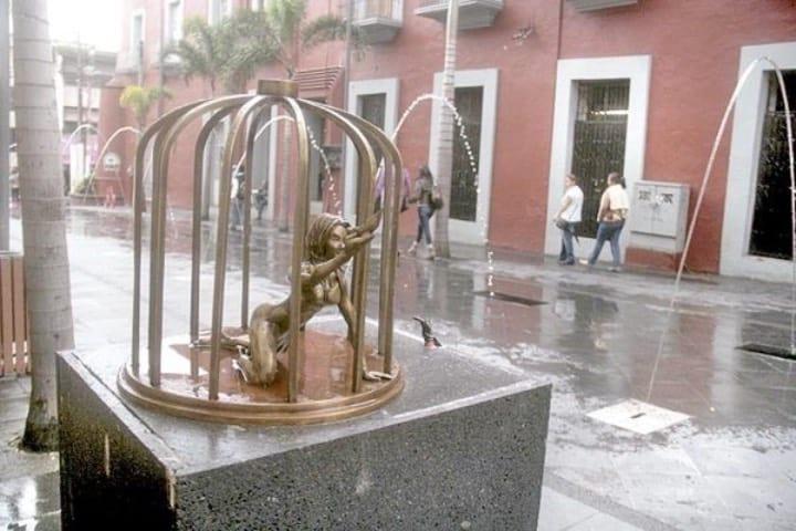 Figura de La Mulata en las calles de Córdoba Foto Archivo