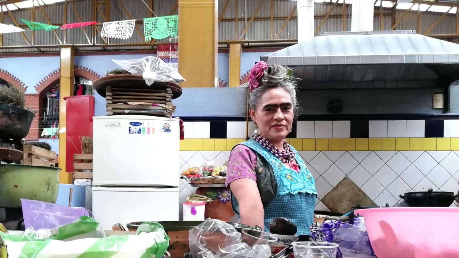 Frida Vive en Oaxaca Foto Luis Juarez