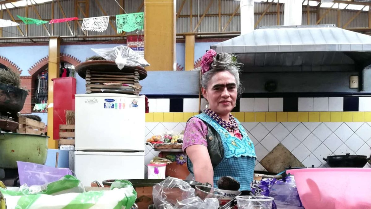 Frida Vive en Oaxaca. Foto: Luis Juarez