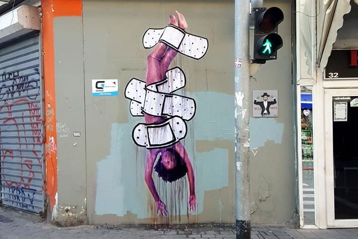 Arte Urbano en Tel Aviv Foto: DEDE BANDAID