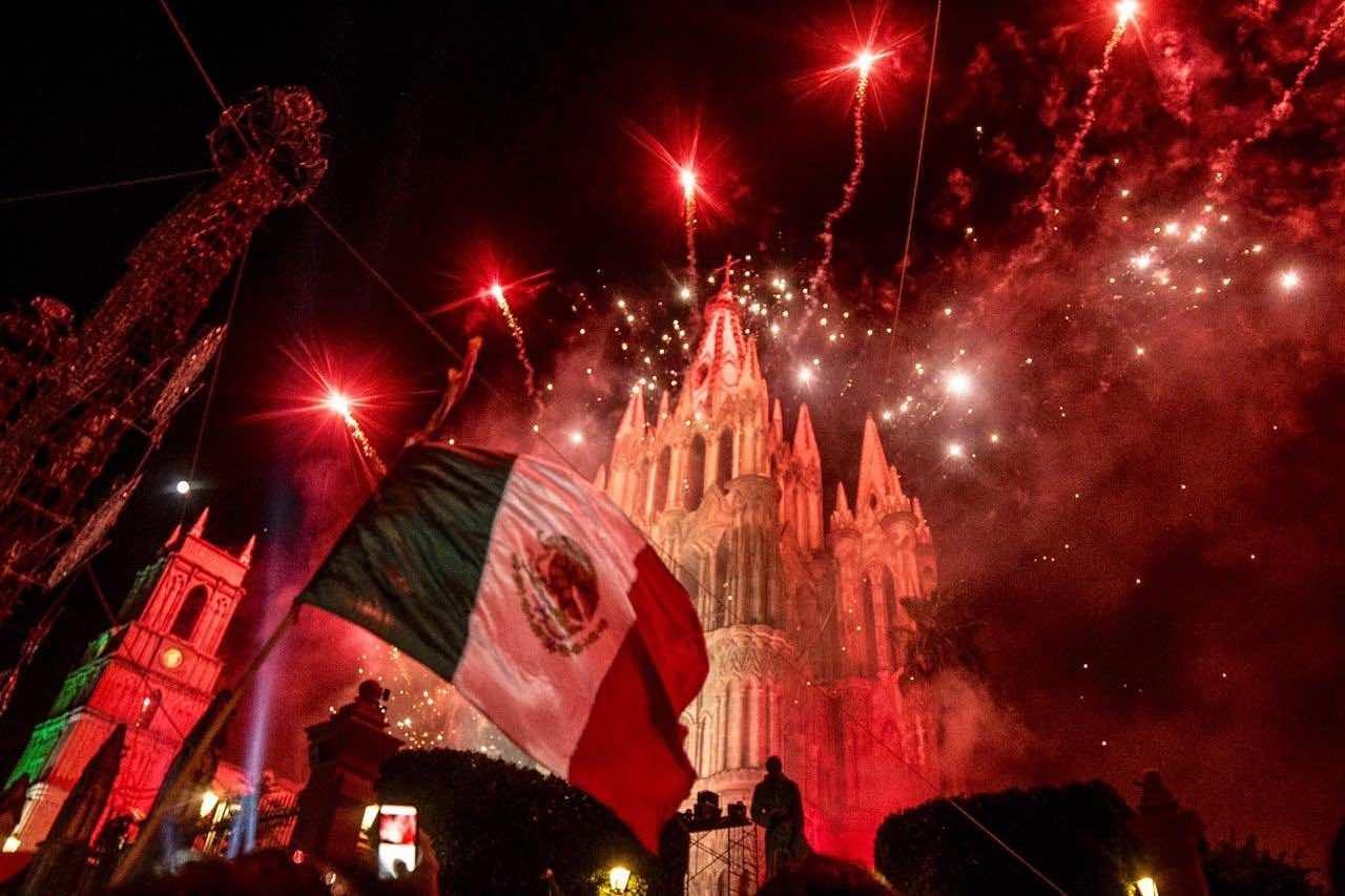 Grito de Independencia, una de las fiestas y ferias en San Miguel de Allende Foto Noticias con Valor