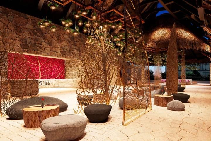 Restaurante en Hotel Xcaret Foto: Periódico Viaje