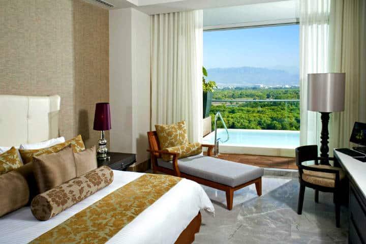 Habitación del Grand Luxxe Nuevo Vallarta Foto: Hotel Grand Luxxe