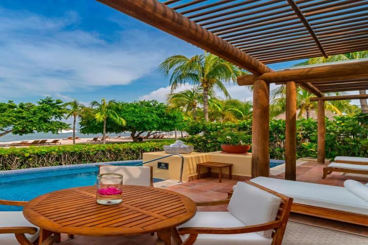 Hoteles de lujo Riviera Nayarit. Foto St regis. Villa