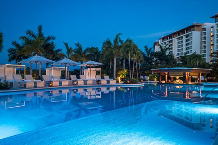 Hoteles de lujo en Riviera Nayarit. Foto Vidanta nuveo Vallarta grand luxxe