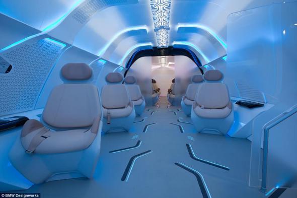 Hyperloop viajar en capsula . Foto Noticias arquitectura