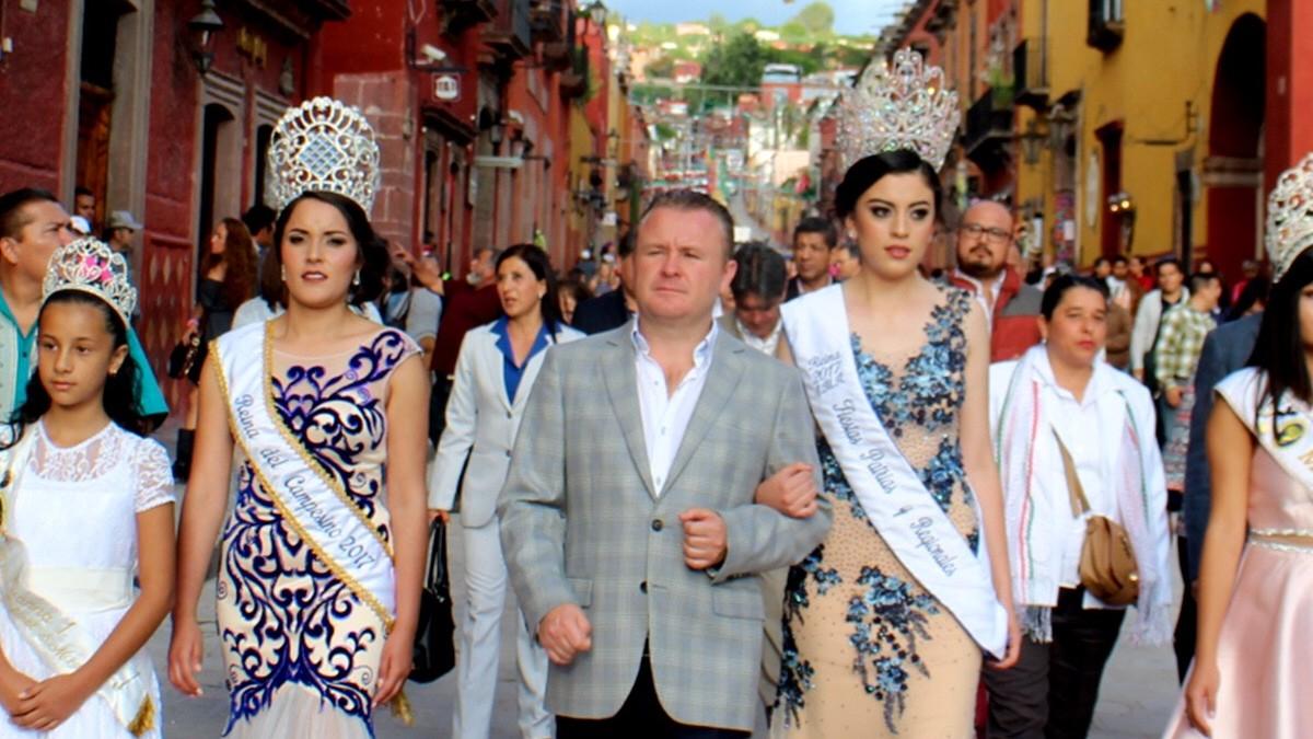 Fiestas de San Miguel de Allende. Foto: ODNnoticias