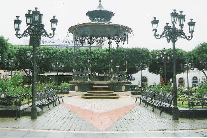 Kiosko en Atotonilco el Alto, Jalisco Foto: Pam Salinas