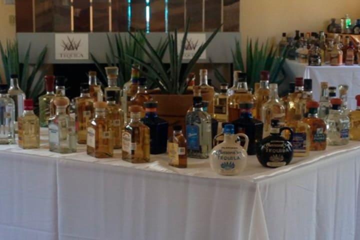 La exhibición de botellas de tequila más grande del mundo Foto Vallarta Independiente