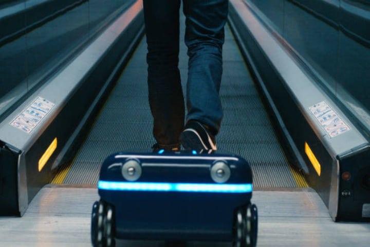 La maleta robot que te sigue a todos lados Foto Archivo