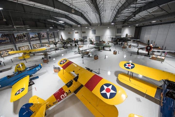 Lone Star Flight Museum de Houston Foto Hola Houston