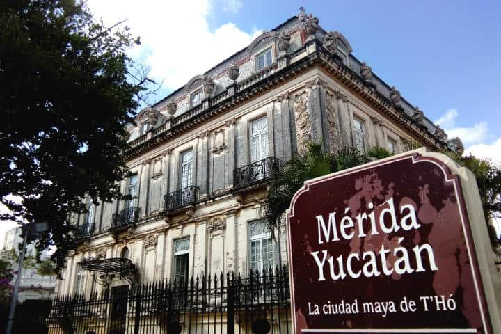 Mérida Paseo Montejo - Foto Luis Juárez J