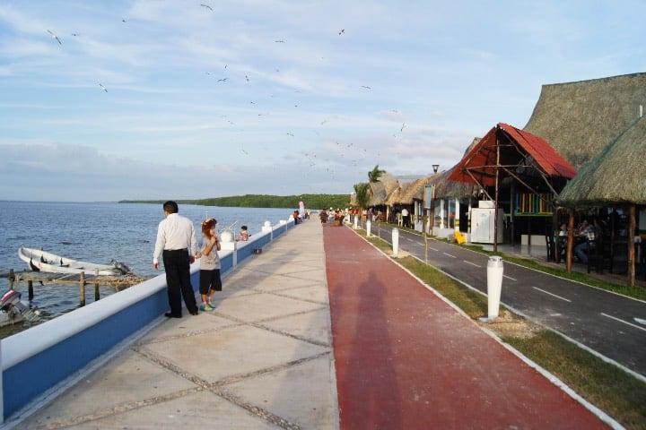 Malecón de Campeche Foto Enrique Vázquez