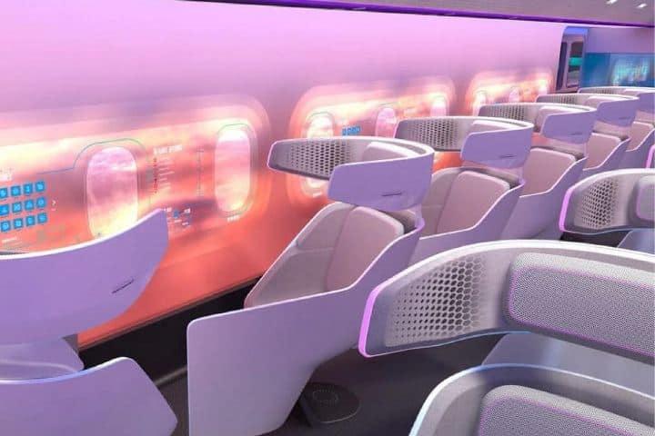 La cabina del avión Foto: Airbus