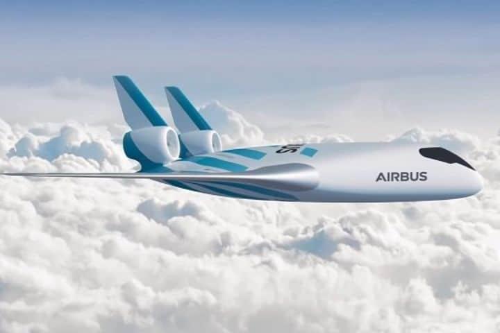 Así se planea se vea el MAVERIC de Airbus en el aire Foto: aviacionnews.com