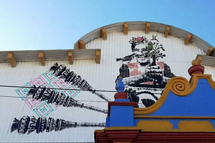 Murales - Foto Luis Juárez J