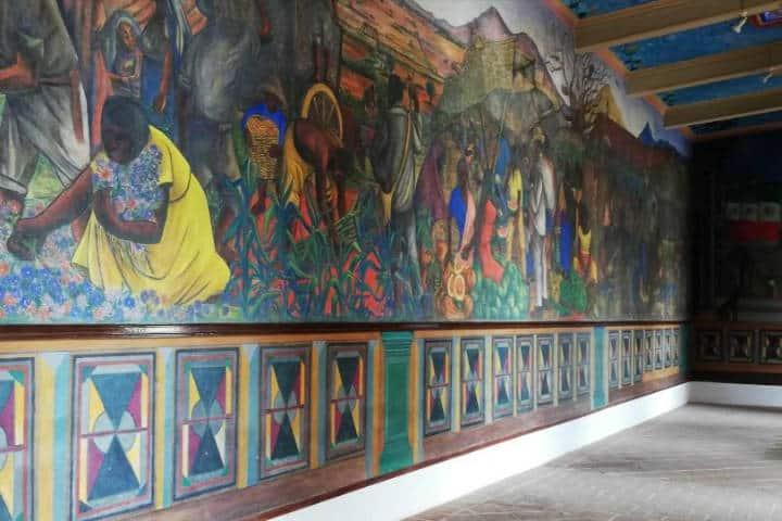 Murales - Foto Luis Juárez J, Frida Kahlo esta viva