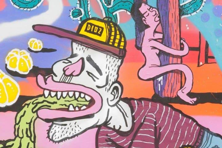 Arte Urbano en Tel Aviv Foto: DIOZ